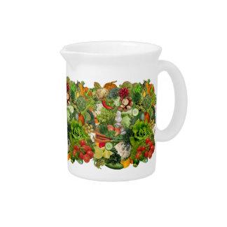 Vegetables Drink Pitcher