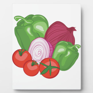 Vegetables Plaque