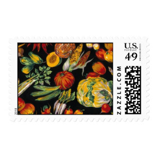 Vegetables Postage Stamps