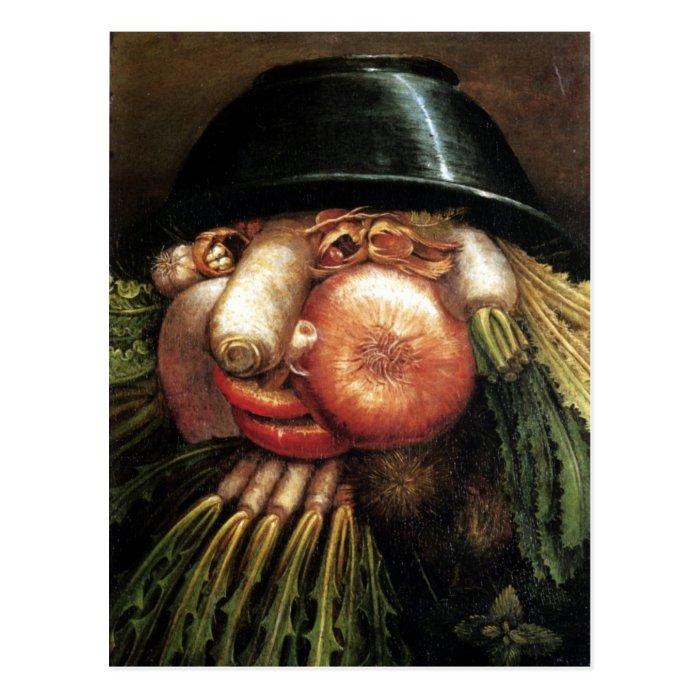 Vegetables Postcard
