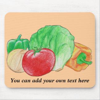 Vegetables Produce Mousepad