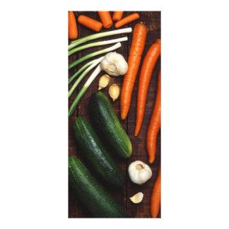 Vegetables Rack Card