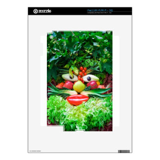 Vegetables Skin For iPad 2