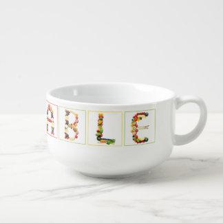 Vegetables Soup Mug