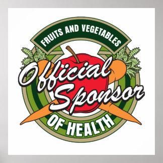 Vegetables Sponsor of Health Poster