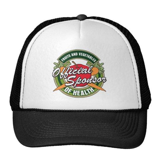 Vegetables Sponsor of Health Trucker Hat