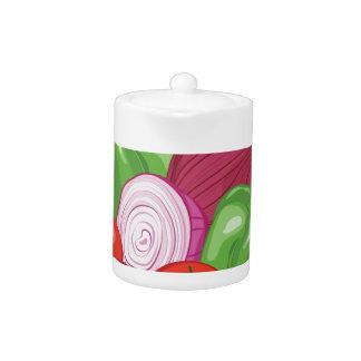 Vegetables Teapot