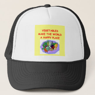 vegetables trucker hat