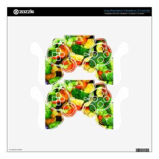 Vegetables - Vegetable Stir Fry Skins For PS3 Controllers