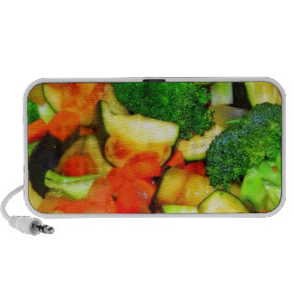 Vegetables - Vegetable Stir Fry Laptop Speaker