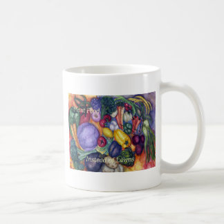 Vegetables Watercolor Plant Food Not Lawns Coffee Mug