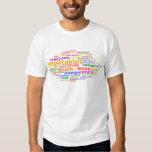 Vegetables Wordle Tee Shirt