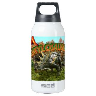 Vegetación y volcán del parque del dinosaurio del