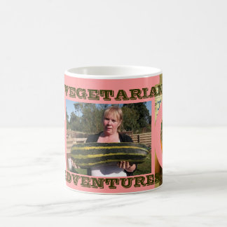 Vegetarian Adventures Entertain Demanding Ladies Coffee Mug