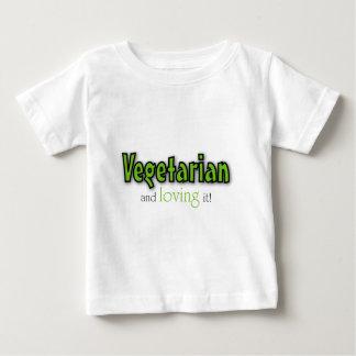 Vegetarian and loving it shirt