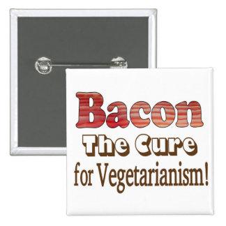 Vegetarian Bacon Button