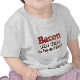 Vegetarian Bacon T Shirts
