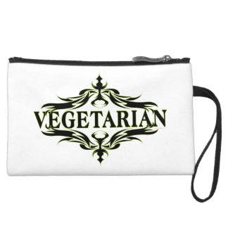 Vegetarian Wristlet Clutches