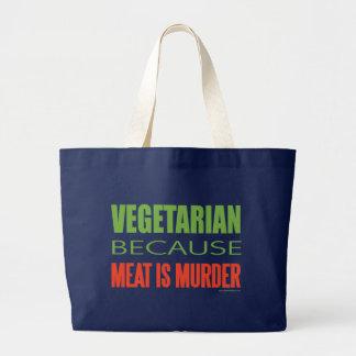 Vegetarian Canvas Bags