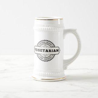 Vegetarian Beer Stein