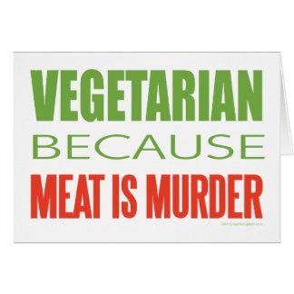 Vegetarian Greeting Cards