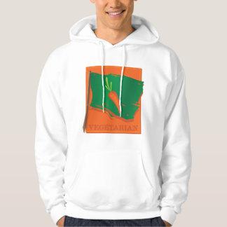 Vegetarian Carrot Flag Hoodie