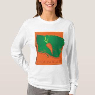 Vegetarian Carrot Flag T-Shirt