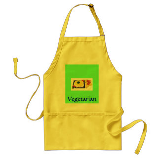 "Vegetarian Chef - ""Thai Wrap"" - Customized Adult Apron"