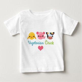 Vegetarian Chick Baby T-Shirt