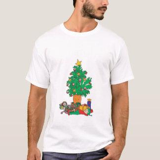 Vegetarian Chirstmas Dark T-Shirt