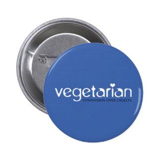 Vegetarian: Compassion Over Cruelty Pin
