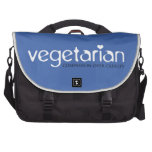 Vegetarian: Compassion Over Cruelty Commuter Bags