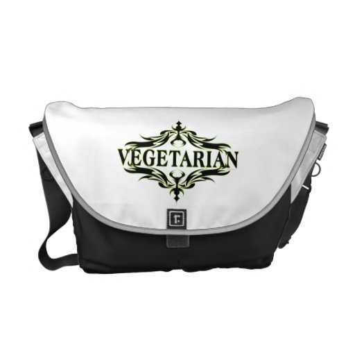 Vegetarian Courier Bag