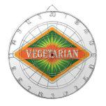 Vegetarian Dartboards