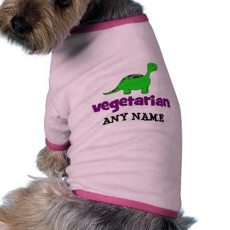 Vegetarian - Dinosaur Design Dog Clothing