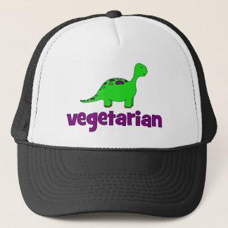 Vegetarian - Dinosaur Design Trucker Hat