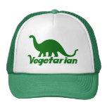 Vegetarian Dinosaur Mesh Hat