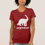 Vegetarian Dinosaur Tshirts