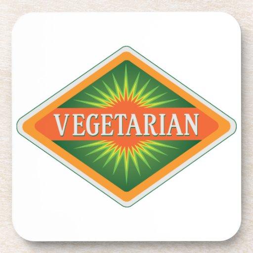 Vegetarian Drink Coasters