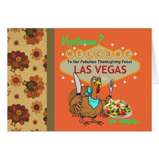 Vegetarian? eat veggies Las Vegas Card
