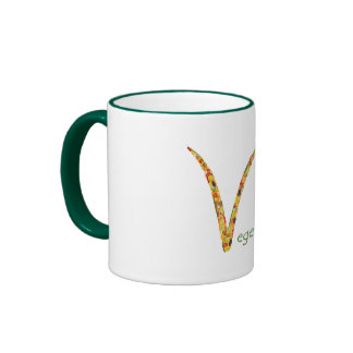 """""""Vegetarian"""" - Feel free to add your own text Mug"""