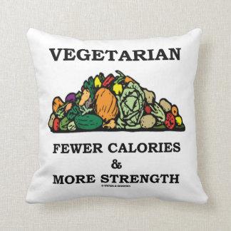Vegetarian Fewer Calories & More Strength Pillow