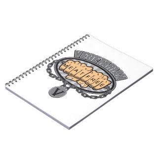 Vegetarian Fists Notebook