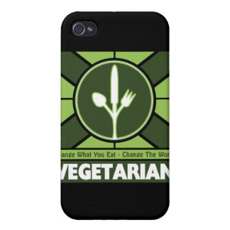 Vegetarian Flag iPhone 4/4S Cases