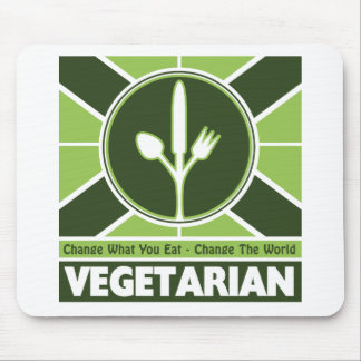 Vegetarian Flag Mouse Pad