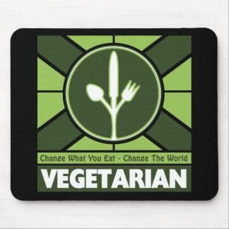 Vegetarian Flag Mouse Pad