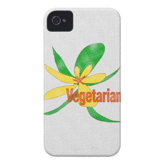 Vegetarian Flower Case-Mate iPhone 4 Case