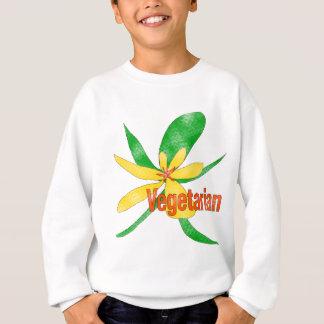 Vegetarian Flower Sweatshirt