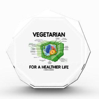 Vegetarian For A Healthier Life (Plant Cell) Acrylic Award