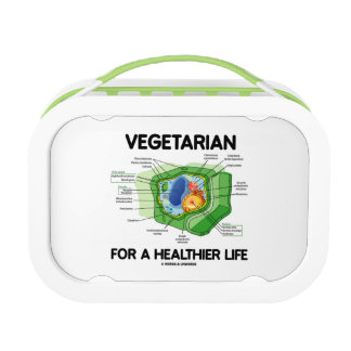 Vegetarian For A Healthier Life (Plant Cell) Replacement Plate